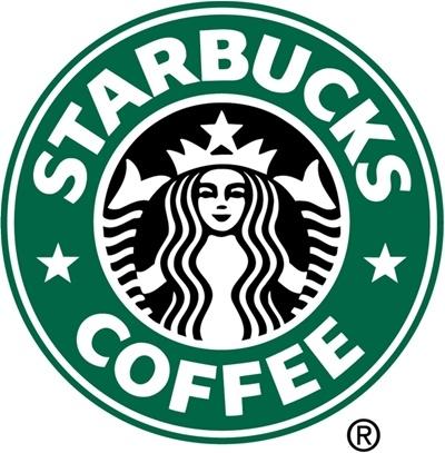 스타벅스 로고, 1992~2010.   커피 프랜차이즈로서 유명한 스타벅스 커피의 로고는 중세풍의 세이렌을 다소 귀엽고 이쁘장하게 만든 것이다. 사실 1971년에 테리 헤클러가 처음 만든 로고는 갈색 계열에 판화풍 세이렌이 그려져있는 것이었는데, 세이렌이 너무 자세히 묘사되어 있어 사람들이 민망해 했다. 그리하여 하체 부분을 깔끔하게 만든 로고가 1987년에 등장했다. 1992년부터 2010년까지는 아예 하체 부분을 많이 생략한 모습의 로고를 사용하였다. 세이렌을 스타벅스 로고에 등장시킨 이유 중 하나는 세이렌이 목소리로 선원들을 홀렸듯이 사람들을 홀려서 스타벅스에 빠져들게 하겠다는 의도를 담기 위해서라고 한다.