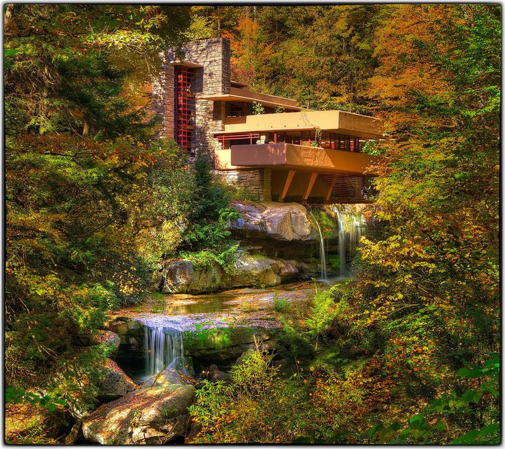 Good Fallingwater By Frank Lloyd Wright (Photo By Kurt Miller.) I Love This House,  And The View It Offers. Part 27