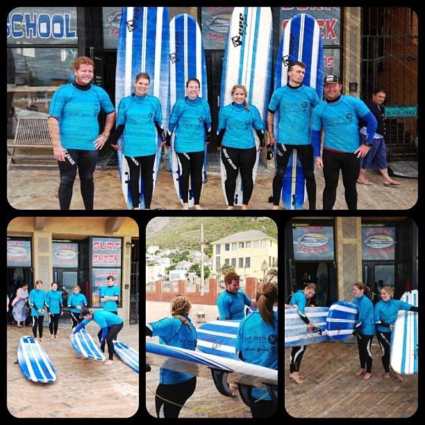 Learn to surf with the crew from Surfshack supported by @billabongsa @billabonggirls_za @vonzippersouthafrica @vonzipperza #dakine #palmers - @surfshack_capetown- #webstagram