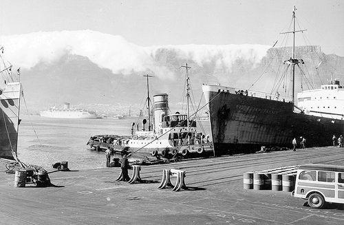 Cape Town Harbour 1956