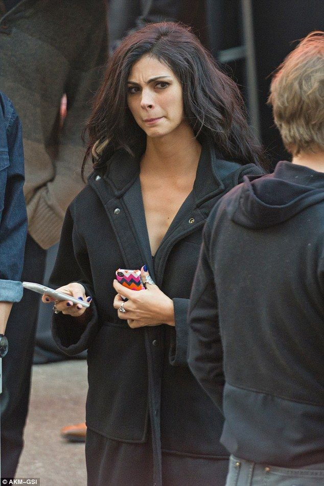 Copycat:Morena Baccarin who plays Deadpool's love interest Vanessa Carlysle was seen weil...
