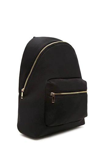 Neoprene Zip Backpack