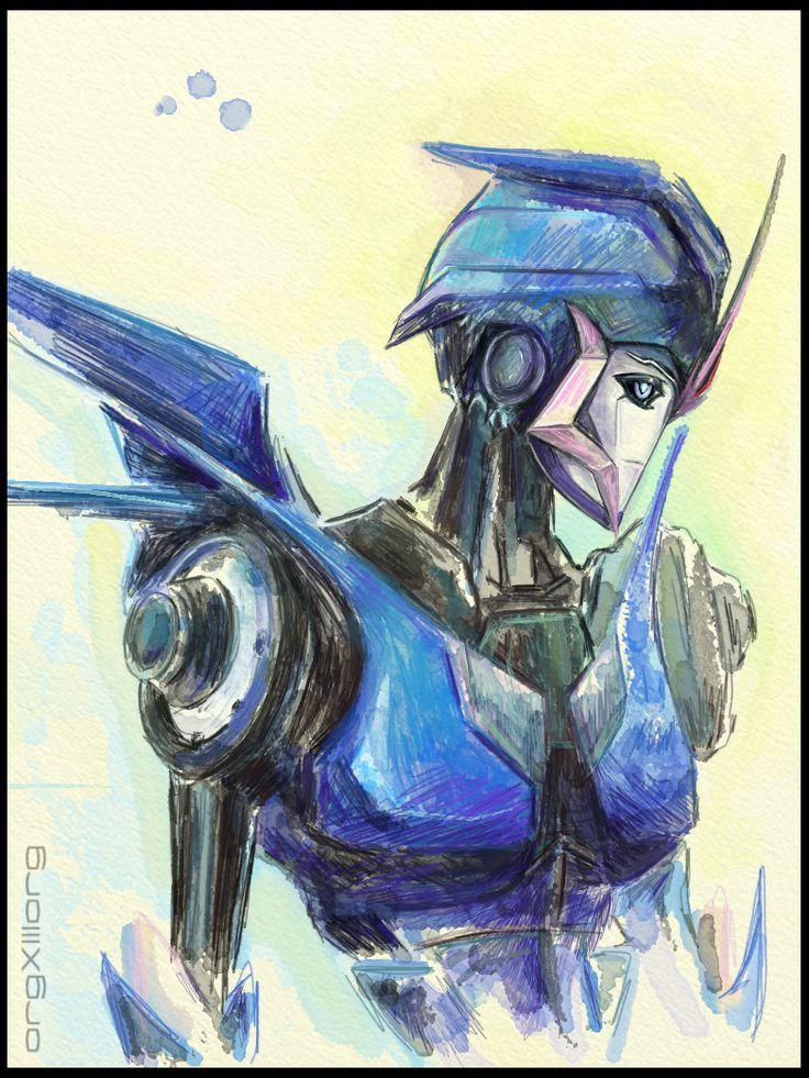Arcee | Transformers Prime by sniperdusk.deviantart.com on @DeviantArt