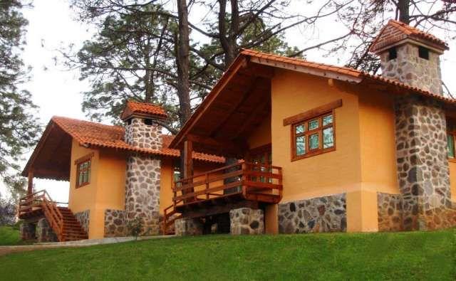 Decoracion de interiores estilo rustico: Casas de campo exteriores