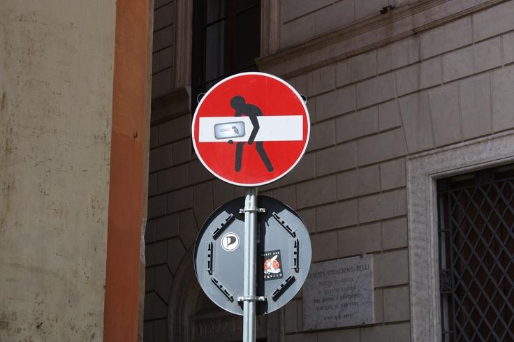 Opfordring fra Rom's gader - stjæl :) -Esra