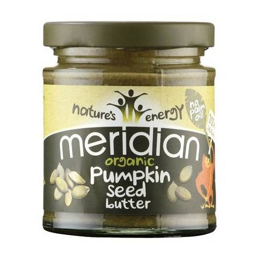 Organic Pumpkin Seed Butter - 170g from Muscle Food. All natural and 100% organic creamy pumpkin seed butter.  Made with organic pumpkin seeds which have been roasted and ground into a smooth spread.