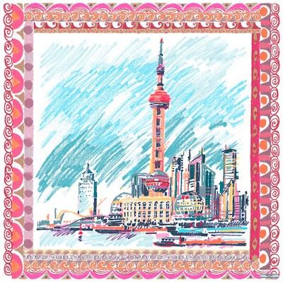 prada scarf shanghai