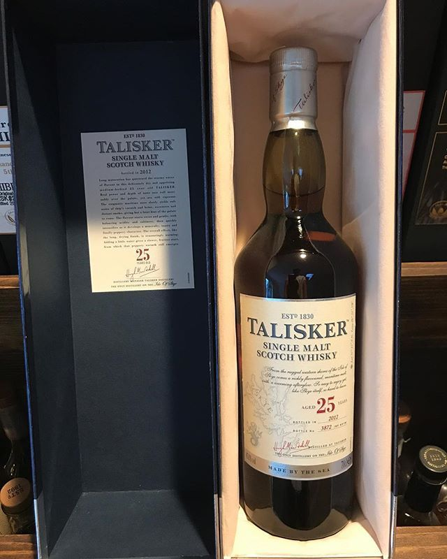 #cloudy days in @sandiego.city call for @talisker 25. A legendary #dram at a not so ridiculous price. Time for some #nfl #singlemalt #whisky . . . #talisker #instawhisky #whiskywall #instapic #whiskylove #scotch #scotchwhisky #lajolla #luxury #gentleman #whiskygram #topshelf #whiskycollection #lifestyle #instadram #sundaymorning #football #lifestyle #sandiego #lajollalocals #sandiegoconnection #sdlocals - posted by Rare Whisky &  Rolex Collector  https://www.instagram.com/rolexwhisky. See…