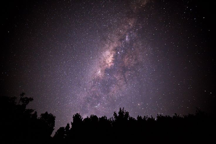 Milky Way Galaxy, Situ Gunung Sukabumi, Indonesia