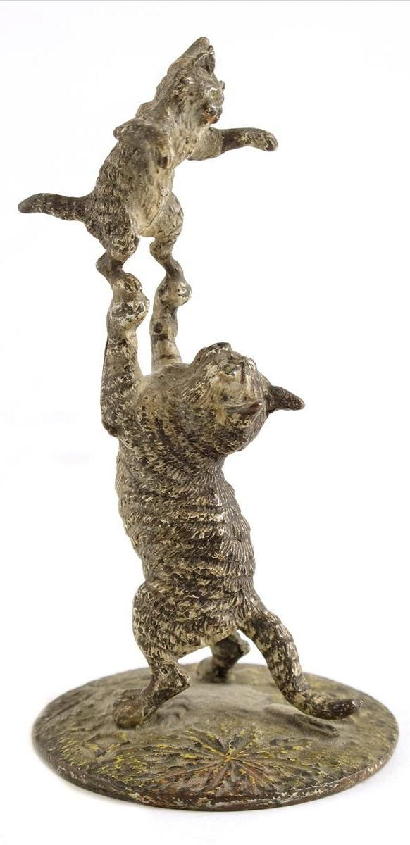 Austrian Cold Painted Bronze