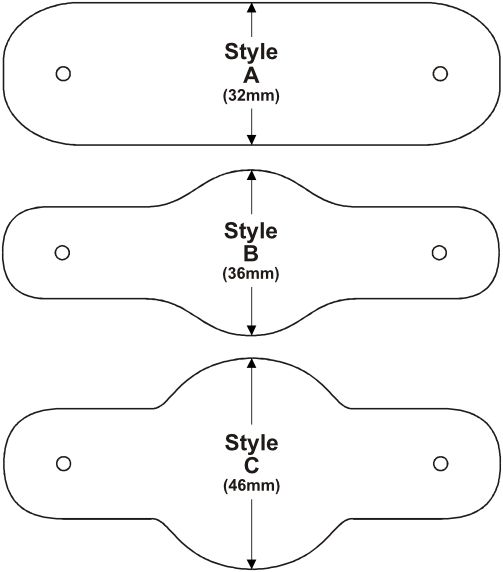 * woggle styles [from a commercial site in the UK -- use as pattern??]