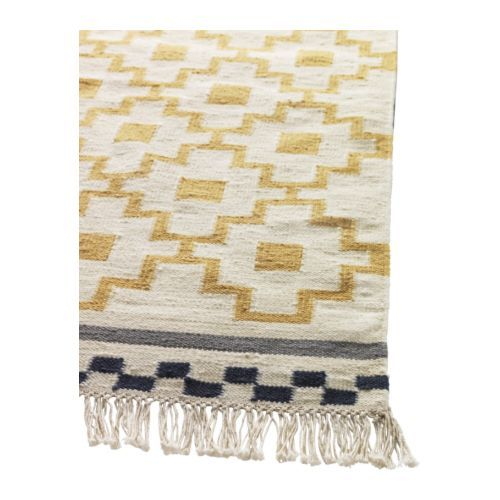 ALVINE RUTA Rug, flatwoven IKEA The rug is hand-woven by skilled craftsmen, and is therefore unique. Woolmark. 100% pure new wool.: Dining Rooms, Bedrooms Rugs, Alvin Ruta, Living Rooms, Ikea Living Room, Area Rugs, Ikea Alvin, Ruta Rugs, Ikea Rugs