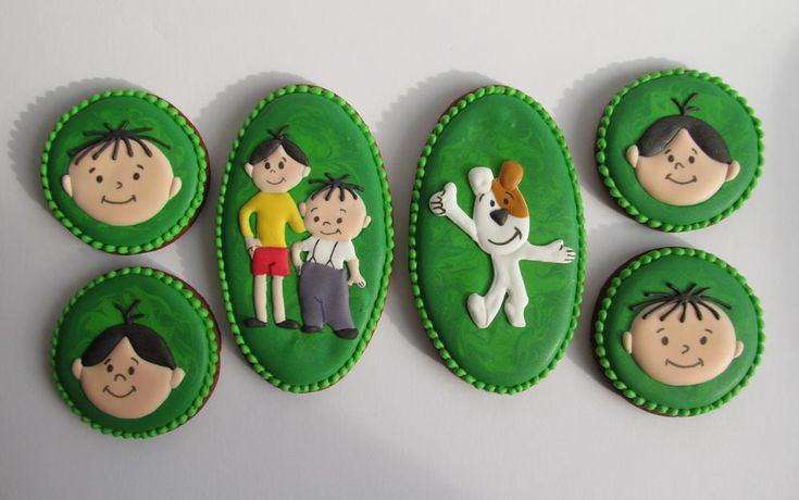 Bolek, Lolek & Reksio - characters from old classic polish cartoons   Cookie Connection