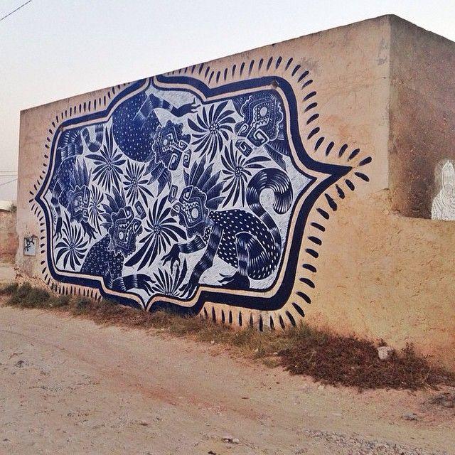 New Mural By In Djerba Tunisia For