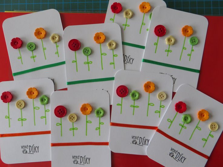 My own version of THANK YOU cards for Kindergarden teachers... (preparation phase :))