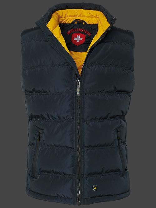 Wellensteyn Snowdome Vest Men, PrincessAirTec, Midnightblue