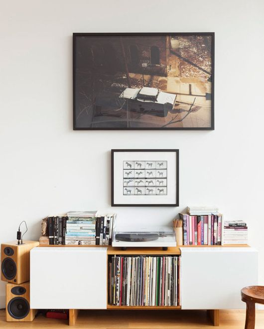 record player set-up