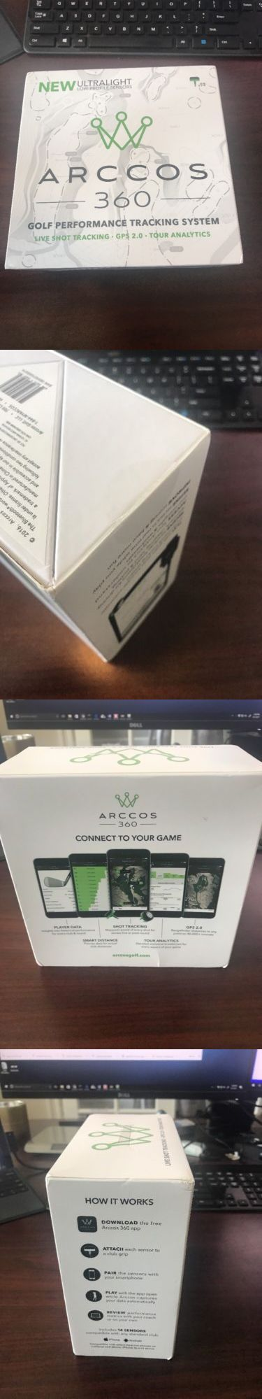 Other Golf Training Aids 14109: Arccos Golf 360 Performance Tracking Gps System New In Box -> BUY IT NOW ONLY: $229 on eBay!