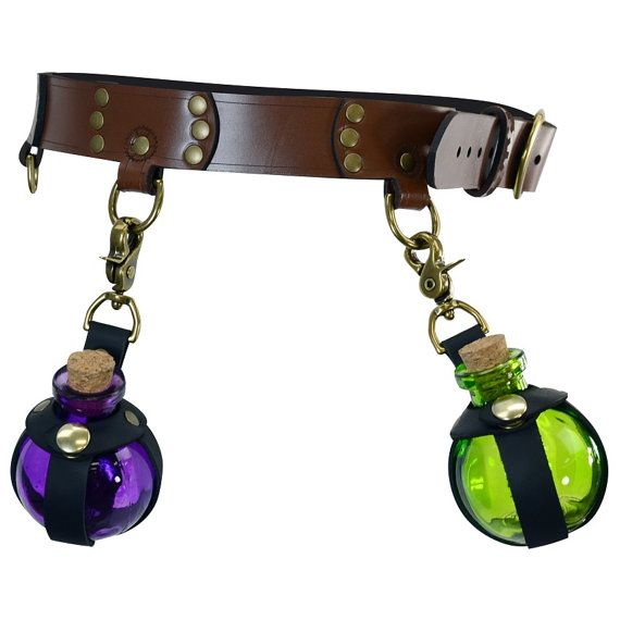 Steampunk Gear D-Ring Belt DK2038