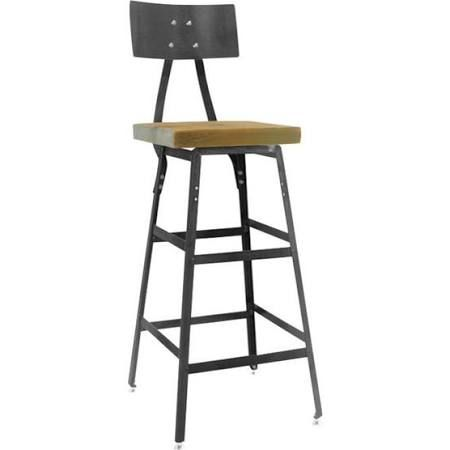 metal and wood rustic kitchen chairs for sale - Google Search