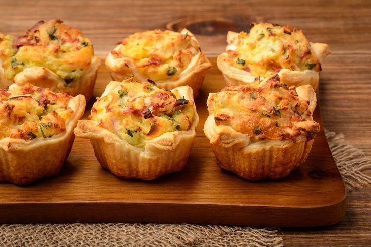 Krumplipüré muffin nyúlós sajttal: 15 perc alatt megsül