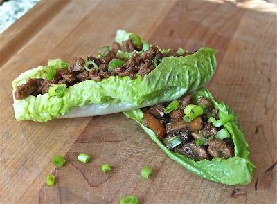Turkey Lettuce Wraps - sub coconut aminos for soy sauce