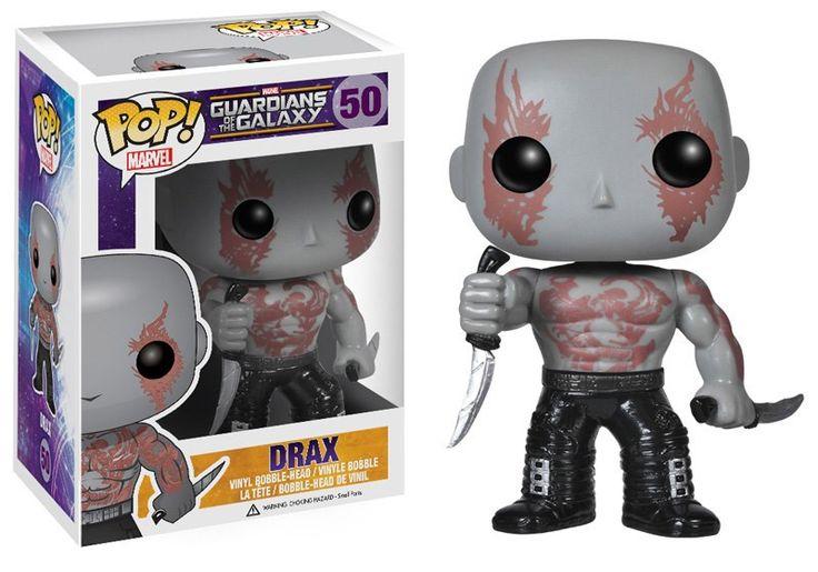 Guardians of the Galaxy POP! Vinyl Figur Drax The Destroyer 10 cm  Guardian of the Galaxy - Hadesflamme - Merchandise - Onlineshop für alles was das (Fan) Herz begehrt!