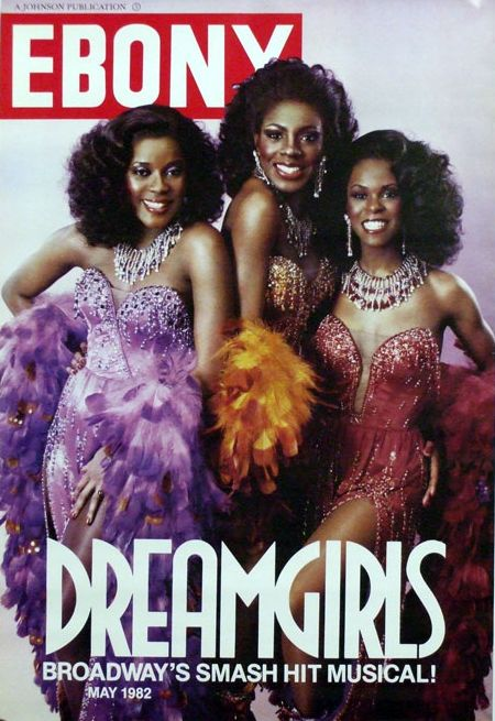 "Following the hit debut of ""Dreamgirls"" on Broadway in late 1981, the cast – Loretta Devine, Sheryl Lee Ralph, and Jennifer Holliday – appeared on the cover of the May 1982 cover of Ebony magazine!"