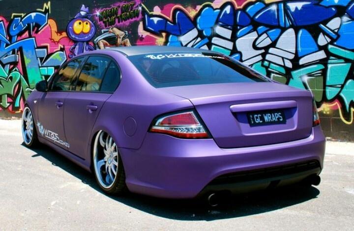 matt purple :: ford falcon