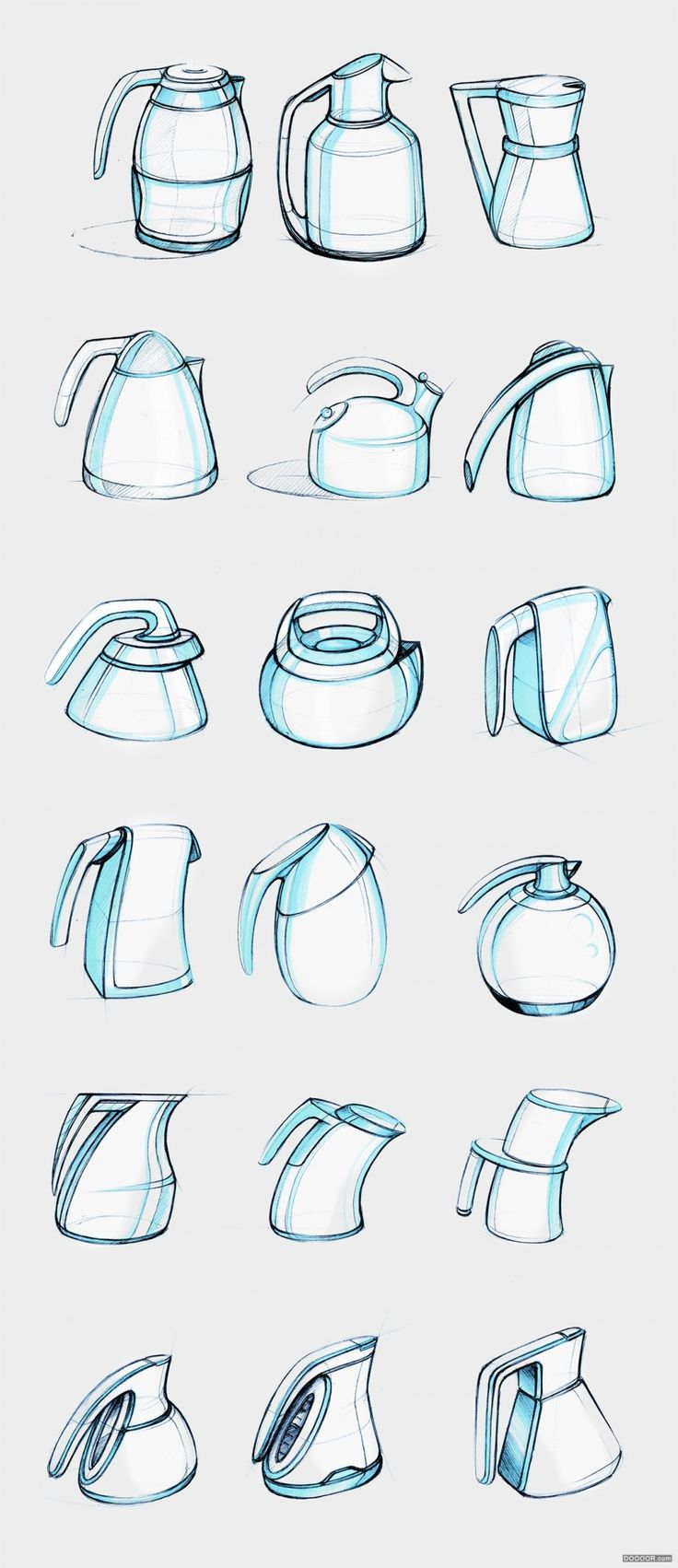 经典家居用品和电子产品工业设计手绘作品-Matt Seibert [55P] (30).jpg