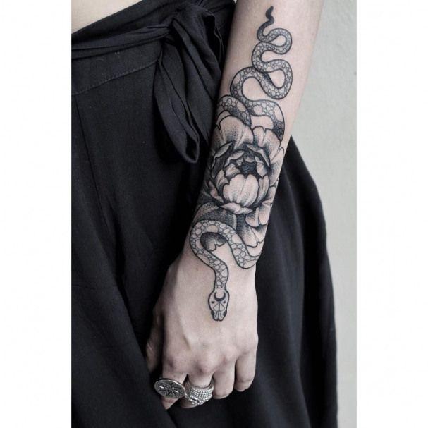 #tattoo #snake #tattoo