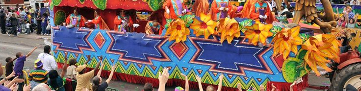 See the Mardi Gras Parade in New Orleans!