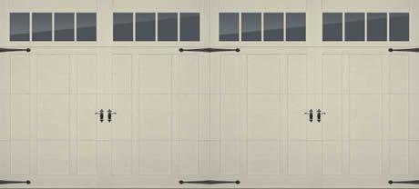 Overlay Steel Carriage House Door in Cincinnati | PDQ | 513-737-3667 | Cincinnati Carriage House Garage Doors