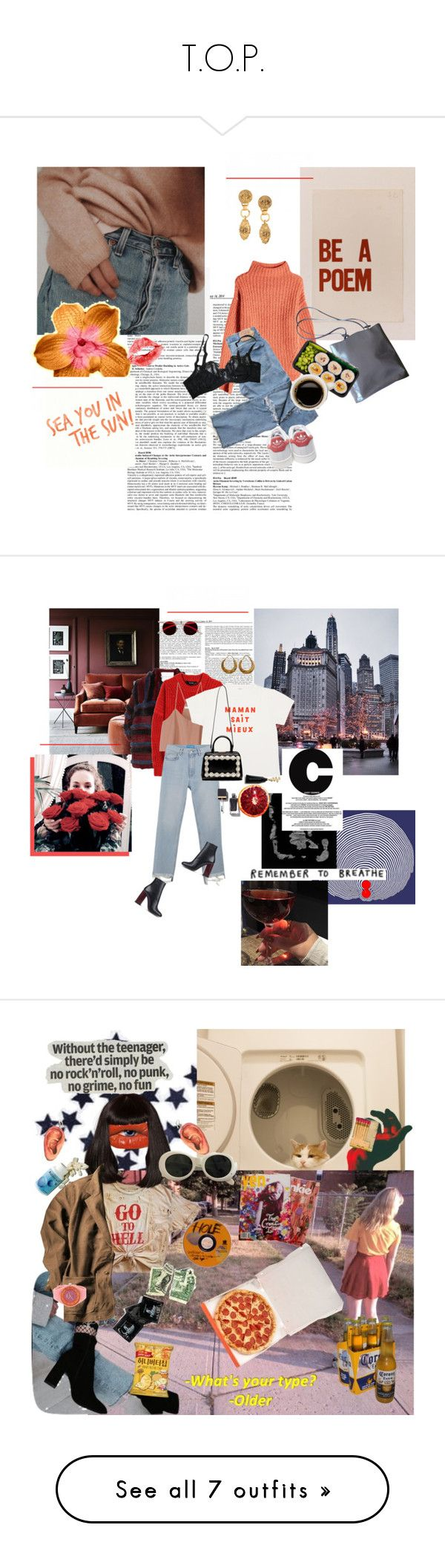 """""""T.O.P."""" by allen-subbotina ❤ liked on Polyvore featuring 81 Hours, Chanel, Furla, adidas, Agent Provocateur, Sonia Rykiel, Isabel Marant, TIBI, M.i.h Jeans and Paul Smith"""