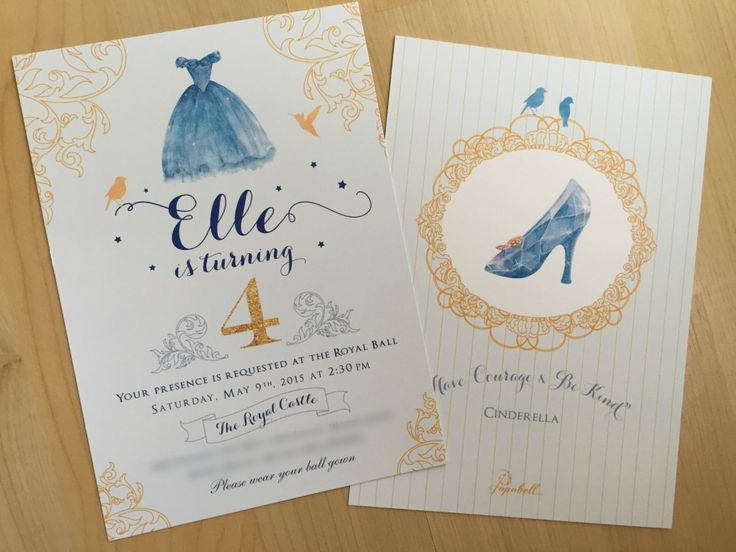 Cinderella Invitation                                                                                                                                                      More