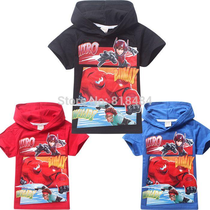Дешевое 2015 хлопок с коротким рукавом мальчик или девочка футболка мальчик рубашка майка шорты мальчик с капюшоном три цвета, Купить Качество Рубашки непосредственно из китайских фирмах-поставщиках:  2015 хлопок с коротким рукавом мальчик или девочка футболка мальчик футболка футболка шорты мальчик с капюшоном три цве