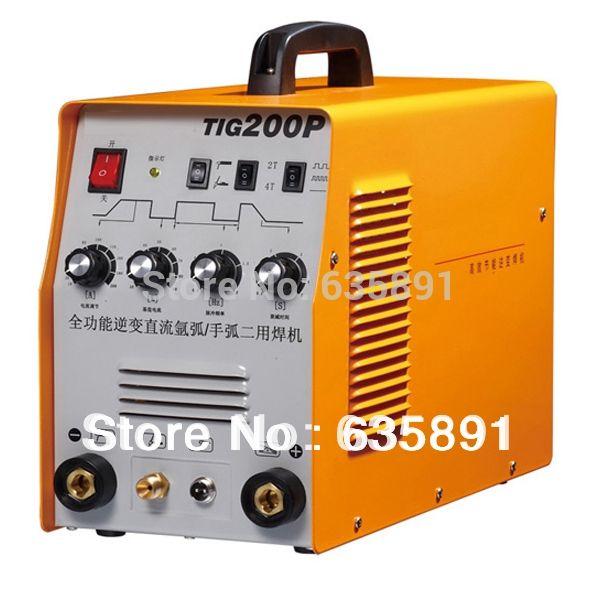 260.00$  Watch now - http://alir7r.worldwells.pw/go.php?t=1416340644 - Super 200P TIG pulse welder argon welding machine pulse current  maquina de solda
