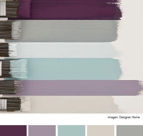 M s de 20 ideas incre bles sobre paredes de color rosa en - Paleta de colores para paredes interiores ...