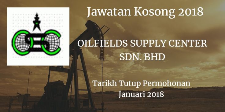 Jawatan Kosong OILFIELDS SUPPLY CENTER SDN. BHD Januari 2018  Jawatan Kosong OILFIELDS SUPPLY CENTER SDN. BHD Johor Bahru 2018. Syarikat OILFIELDS SUPPLY CENTER SDN. BHD Johor Bahru membuka peluang pekerjaan OILFIELDS SUPPLY CENTER SDN. BHD  terkini 2018 ini.  Jawatan Kosong OILFIELDS SUPPLY CENTER SDN. BHD Januari 2018  Warganegara Malaysia yang berminat kerja di OILFIELDS SUPPLY CENTER SDN. BHD  Johor Bahru dan berkelayakan dipelawa untuk memohon kekosongan jawatan :  Asst Manager Sales & Marketing  (Kuala Lumpur)  Responsibilities:  To assist the Sales & Marketing Manager in the procurement of business and in developing new business opportunities both within Malaysia and the ASEAN region Assist in identifying markets/competitors for Company's products and establish contacts Assist the Sales & Marketing Manager in successfully managing the sales process; lead generation credentials pitch; negotiations and closing deals Responsible for own business leads and appointments together with those of the Sales & Marketing Manager Provide and be accountable for all client proposals documentation contracts and any further documentation and procedures/follow ups.  Maintain customer profile  Requirements:  Degree or at least Diploma in Mechanical Engineering with 3 years' working experience in related field. Experience in fabrication of pressure vessels and heat exchangers Confident target-oriented self-motivated resourceful and able to work independenfly. Hands on knowledge of Microsoft Excel Words & Powerpoint Possess good communication and interpersonal skills with a strong desire to excel Possess own transport and willing to travel. Good command of English and Bahasa Malaysia  Interested candidates are invited to submit their applications through email with a detailed resume stating personal particulars experience current expected salary contact telephone number and enclose a recent passport- sized photograph to hrmanagengscmalaysiacgm  Any queries please contact HR Executive (03-2273 9888)  Only short listed candidates will be notified.  via JobsJohor Jawatan Kosong Johor 2018 Johor