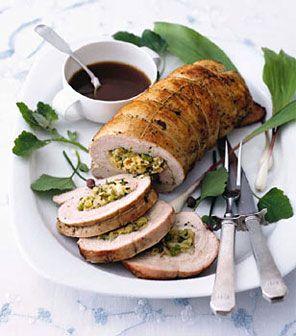 Leftover Turkey Recipes: Turkey Recipes, Stuffed Turkey, American Recipes, Favorite Turkey, Breast Stuffed, Turkey Breast, Passov Recipes, Cooking Recipes, Fennel Recipes