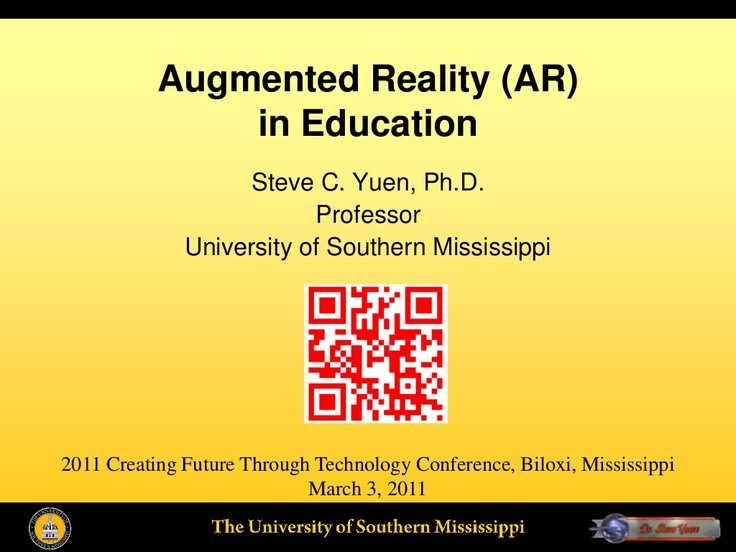 Augmented Reality (AR) in Education