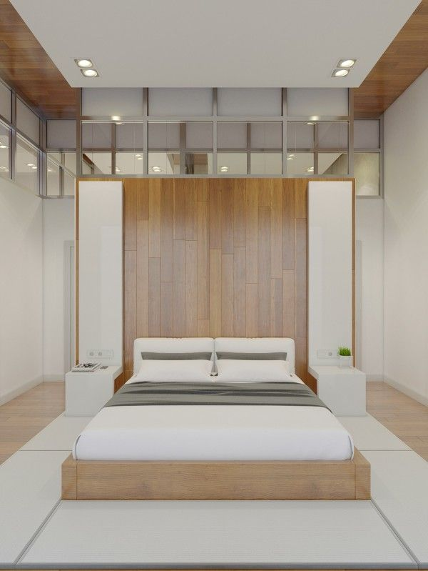 Minimal bedroom designs - aesthetically pleasing to the eyes <3 This epitomizes comfort and beauty in one for me