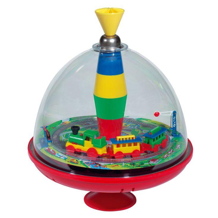 KSM Toys Spinning Train Top
