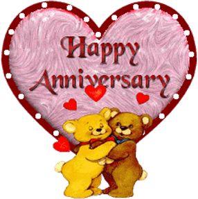 animated gif anniversary cards | Happy Aniversary Orkut codes hi5 Anniversary Myspace graphics Happy ...