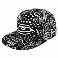 New Fashion Canvas Unisex Hip-hop Style Night Visual Hat Adjustable Baseball Casual Cap