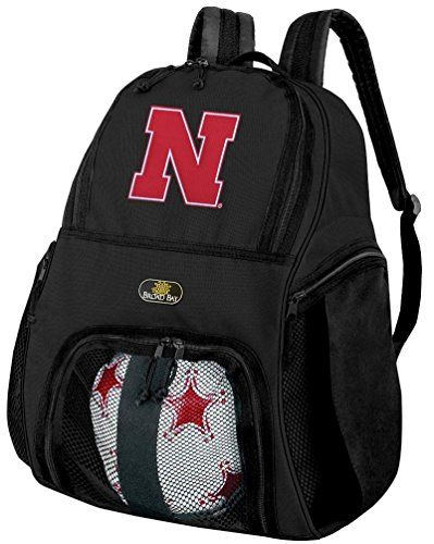 University of Nebraska Soccer Backpack or Nebraska Huskers Volleyball Bag -- Details can be found by clicking on the image.Note:It is affiliate link to Amazon.
