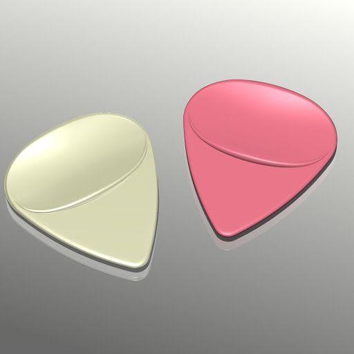 Guitar Pick  ( 3Dプリントプロダクト「Guitar Pick」の商品詳細 )