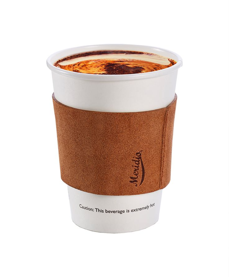 $  29.00 Java Jacket - Leather cupholder made in Italy, a new way to taste the coffeefillingyour days with positive energy