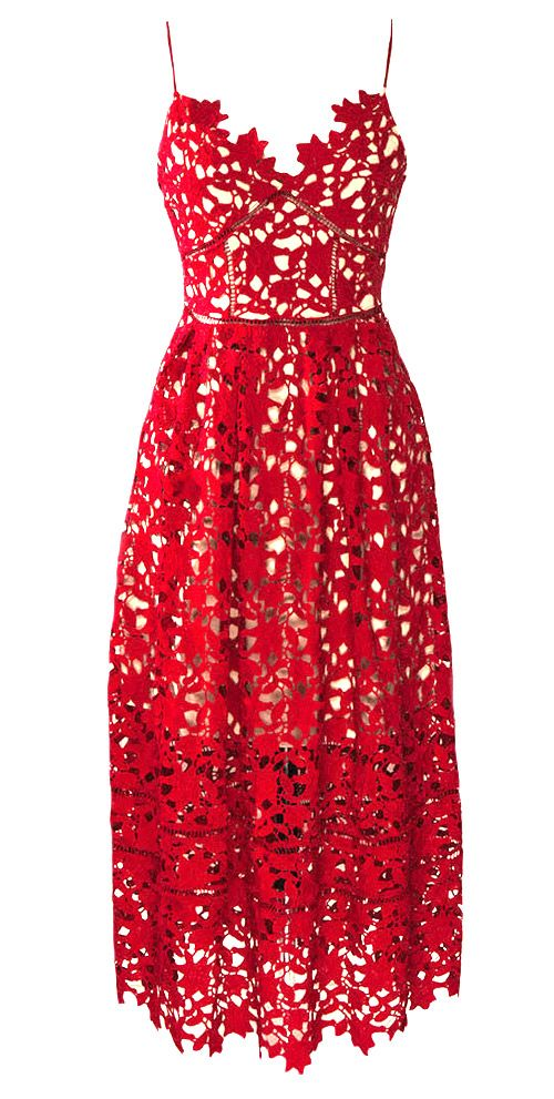 Gi joe 2 red dress lace
