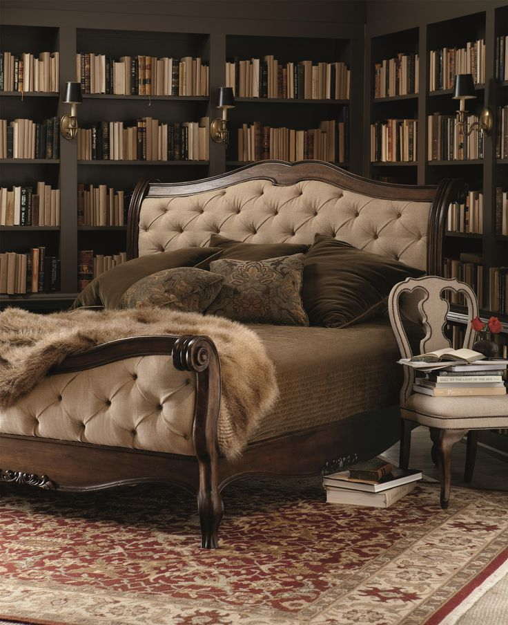 Bernhardt Eaton Square King Sleigh Bed